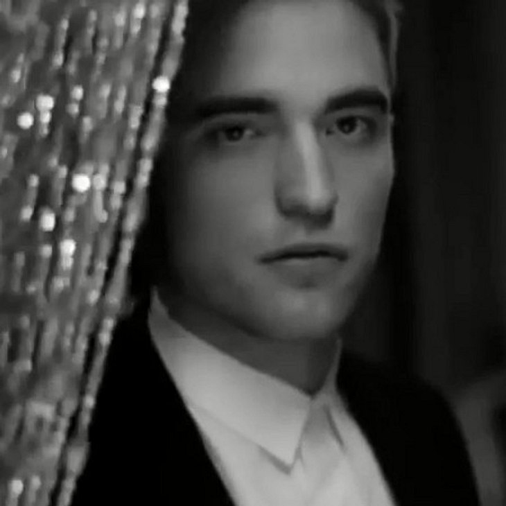 Robert Pattinson als Dior-Model.