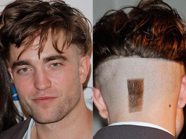 Robert Pattinson trägt jetzt Undercut