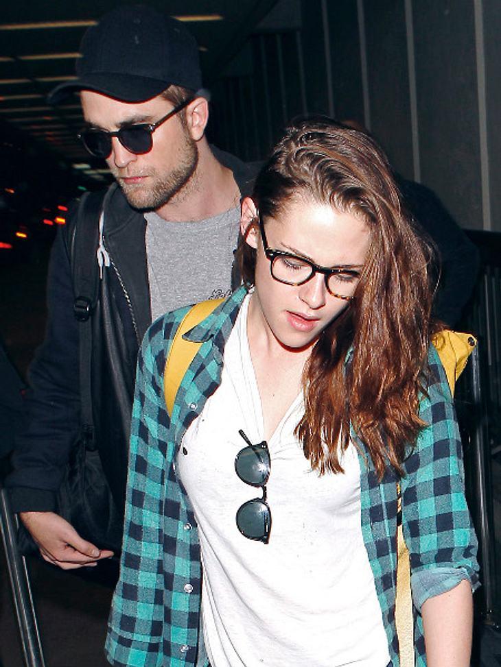 Robert Pattinson & Kristen Stewart: Gemeinsam ins Hotel!