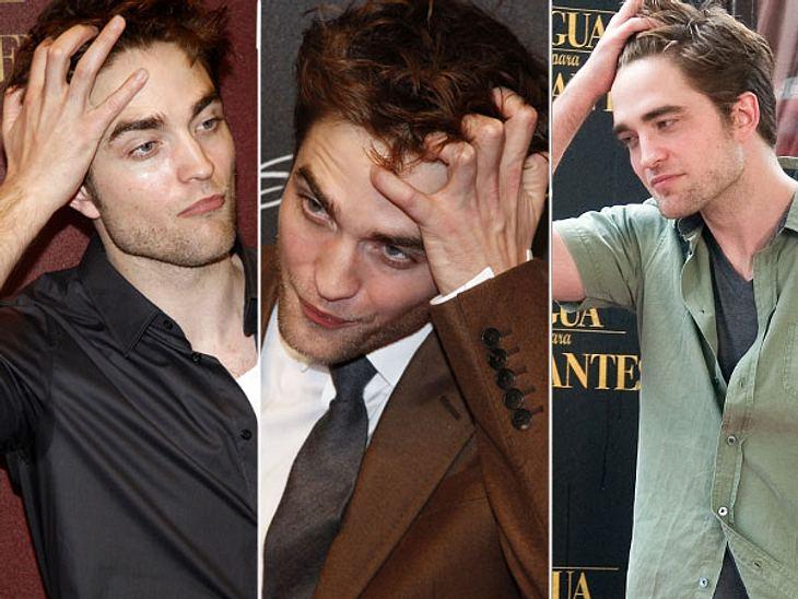 Diese Stars posen immer gleichMädchen stehen auf Wuschelhaare. Das hat offenbar auch Robert Pattinson (26) mitbekommen und fährt sich deshalb bei jeder sich bietenden Gelegenheit mit der Hand durch seine Struwwelfrisur.Die nachdenkliche Grü