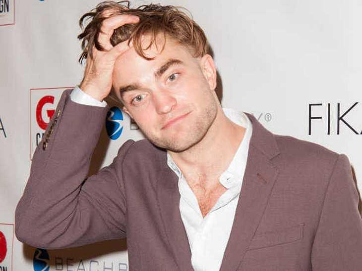 Mit Robert Pattinson zusammen zu sein, ist scheinbar nicht einfach!