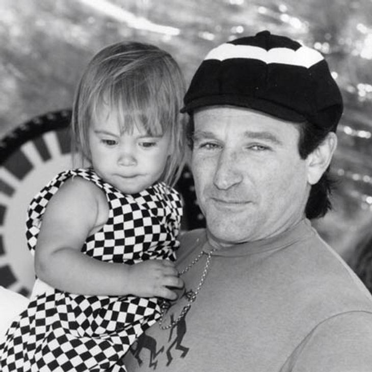 Dieses Foto postete Robin Williams am 1. August