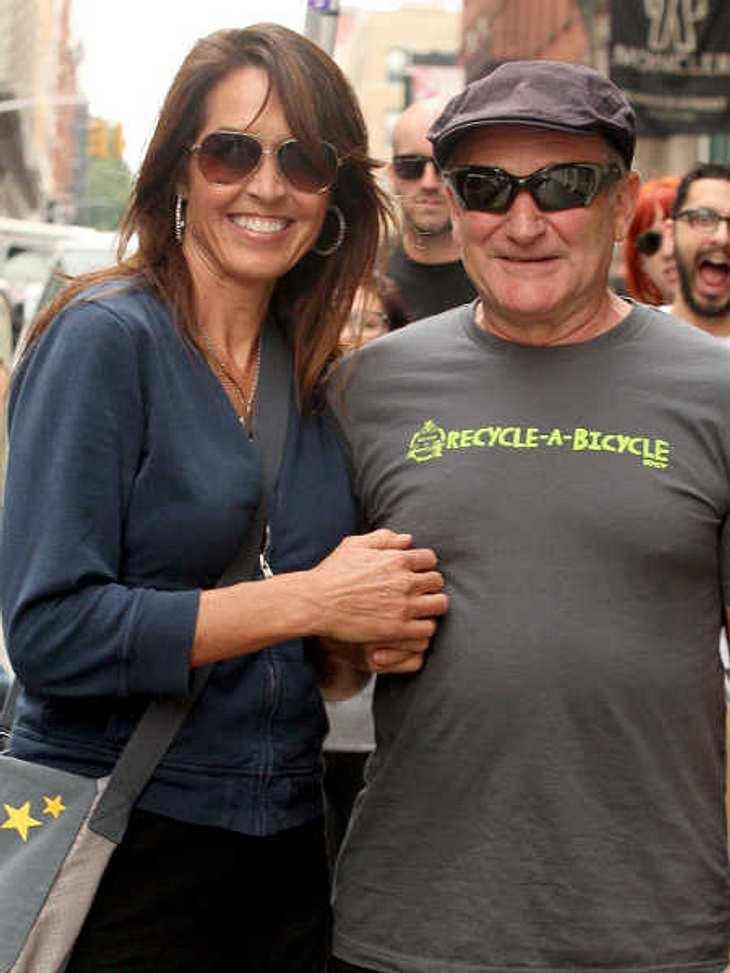 Susan Schneider trauert um ihren Mann Robin Williams.