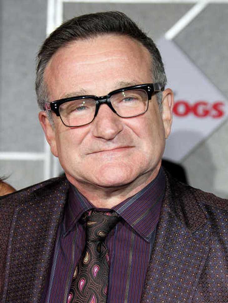 Robin Williams nahm selbst schwere Zeiten mit Humor.