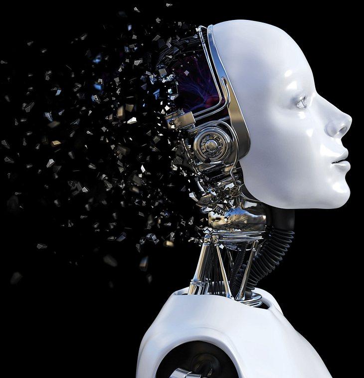 Roboter-Symbolbild