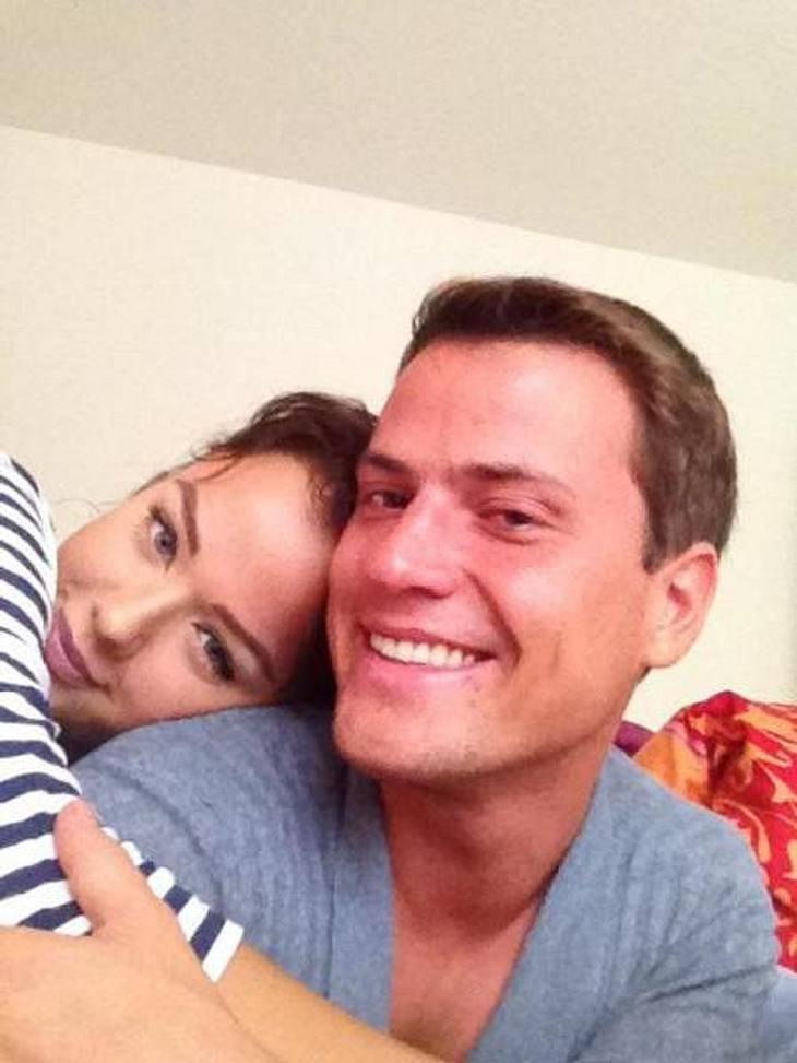 Kim Gloss und Rocco Stark freuen sich sehr auf ihr Baby