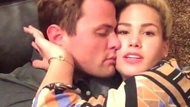 Angelina Heger und Rocco Stark zeigen ihre Liebe zueinander - Foto: Facebook/ Angelina Heger