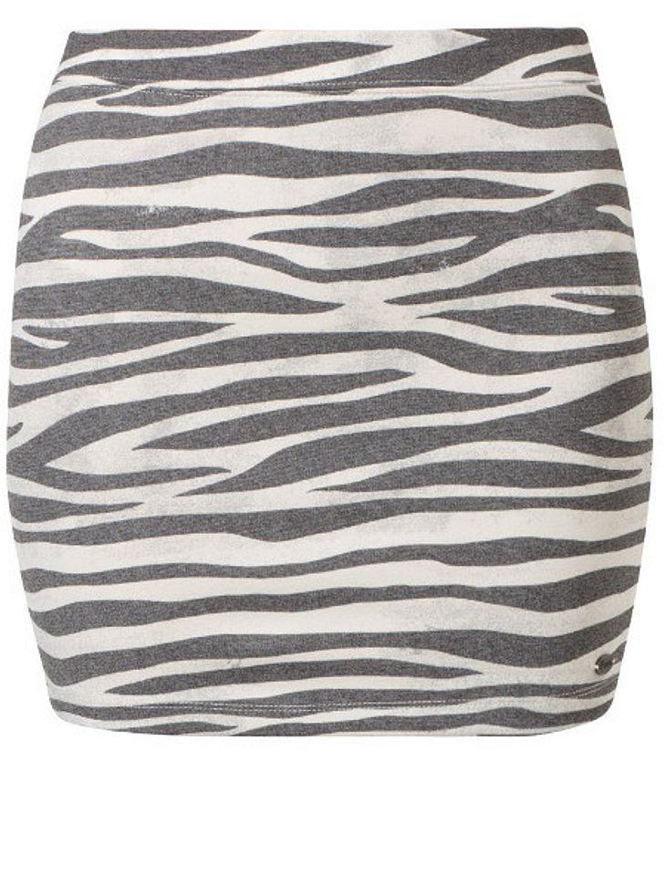 Rock mit Zebra-Print von Tom Taylor, um 29,95 Euro.