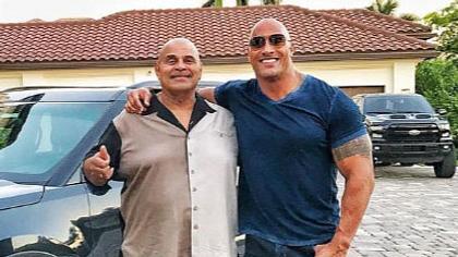 Rocky Johnson und Dwayne Johnson - Foto: Instagram/@therock