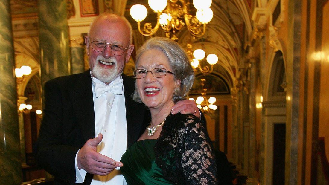 Roger Whittaker mit seiner großen Liebe Natalie O'Brien