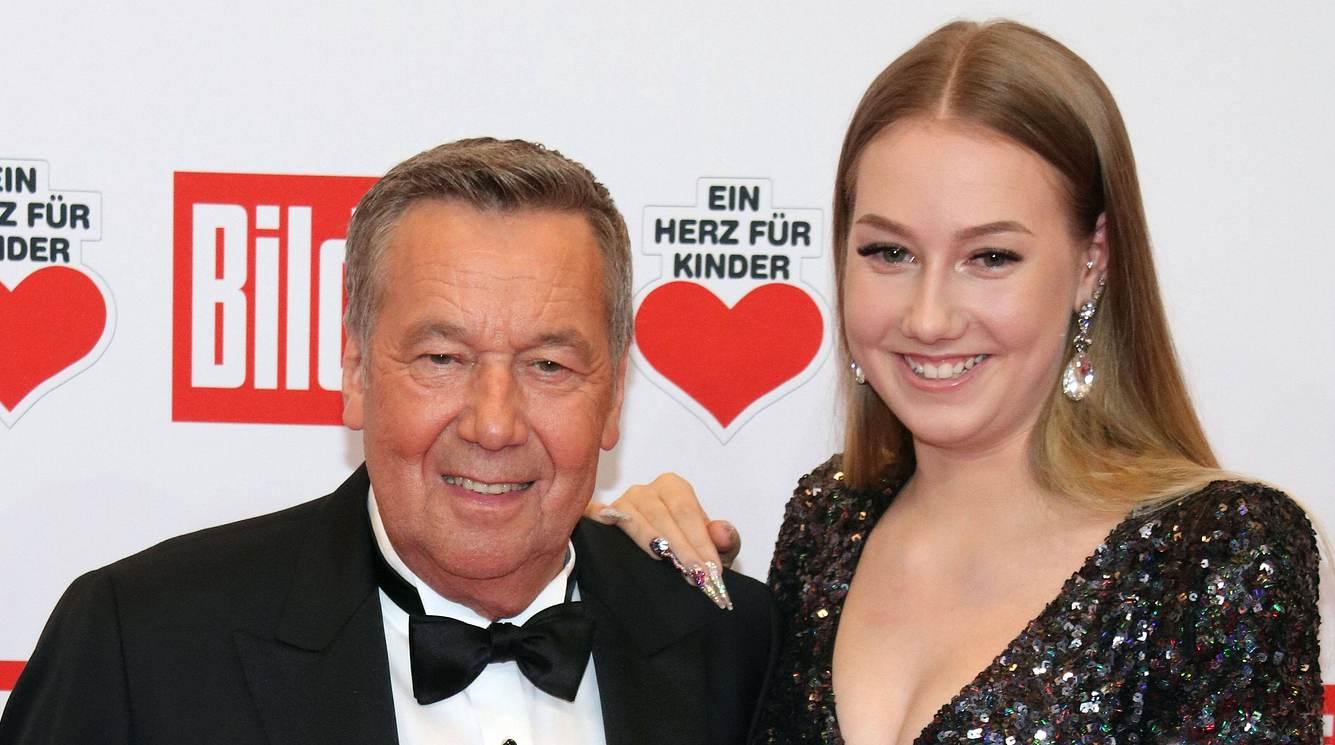 Roland Kaiser mit Tochter Annalena