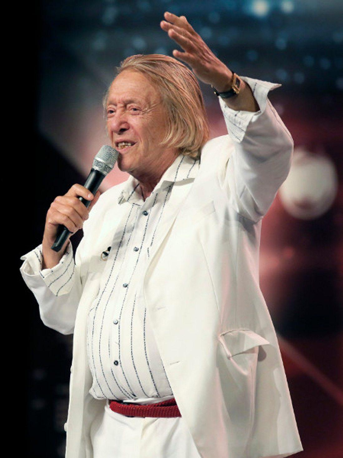 Playboy Rolf Eden beim Supertalent