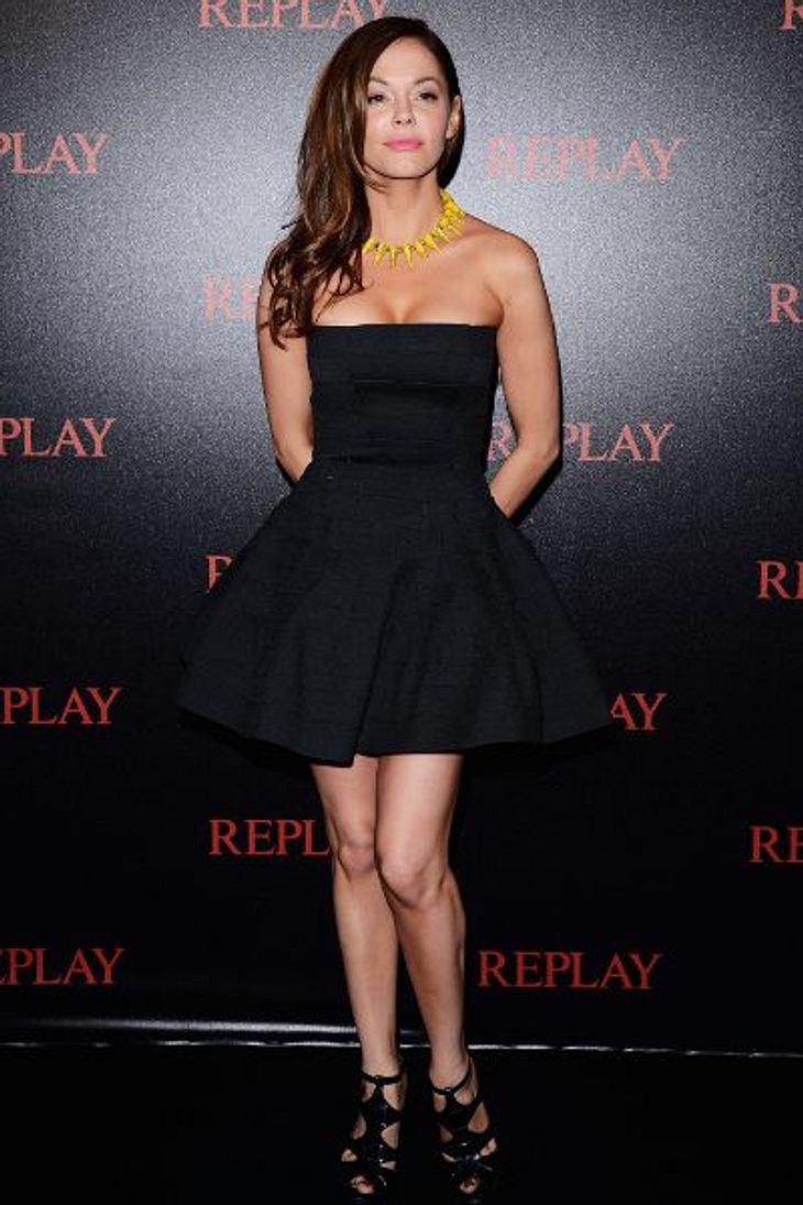 Cannes 2012 Bei der Replay-Party, anlässlich der Filmfestspiele in Cannes, zeigte Rose McGowan (38) sehr viel Dekolleté...