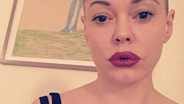 Rose McGowan: Der Charmed-Star trägt jetzt Glatze - Foto: Instagram / Rose McGowan