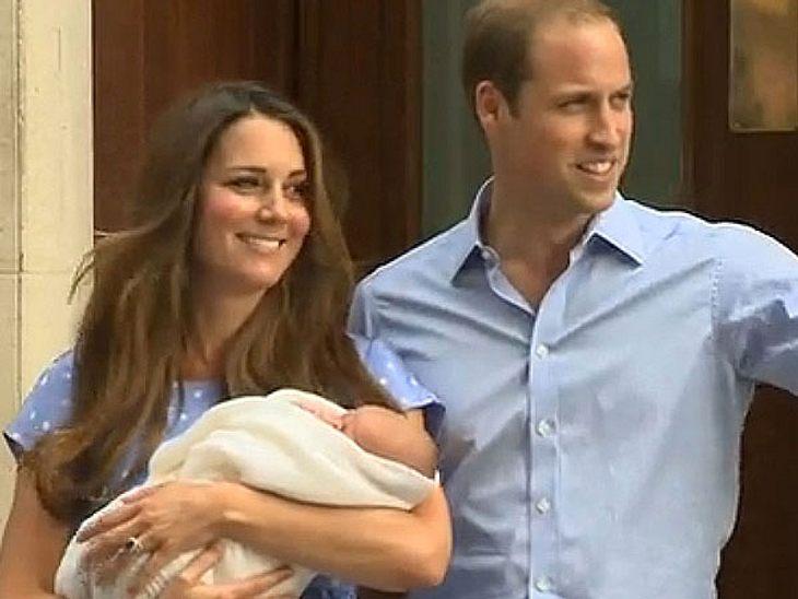 Der kleine Prinz George hat eine lange Ahnenreihe