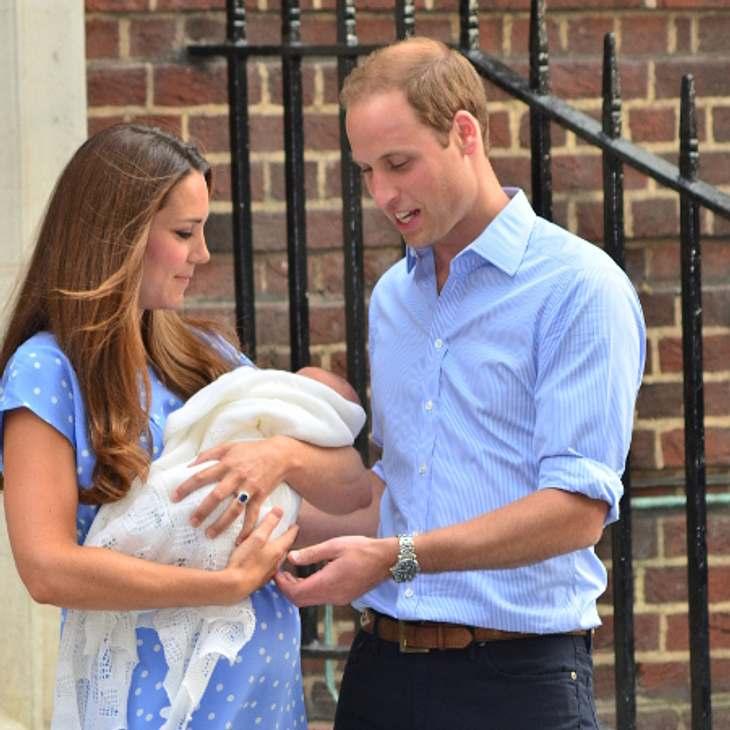 Der Prince of Cambridge ist rekordverdächtig schwer