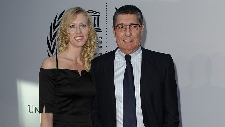 Rudi Assauer und Ex-Frau Britta