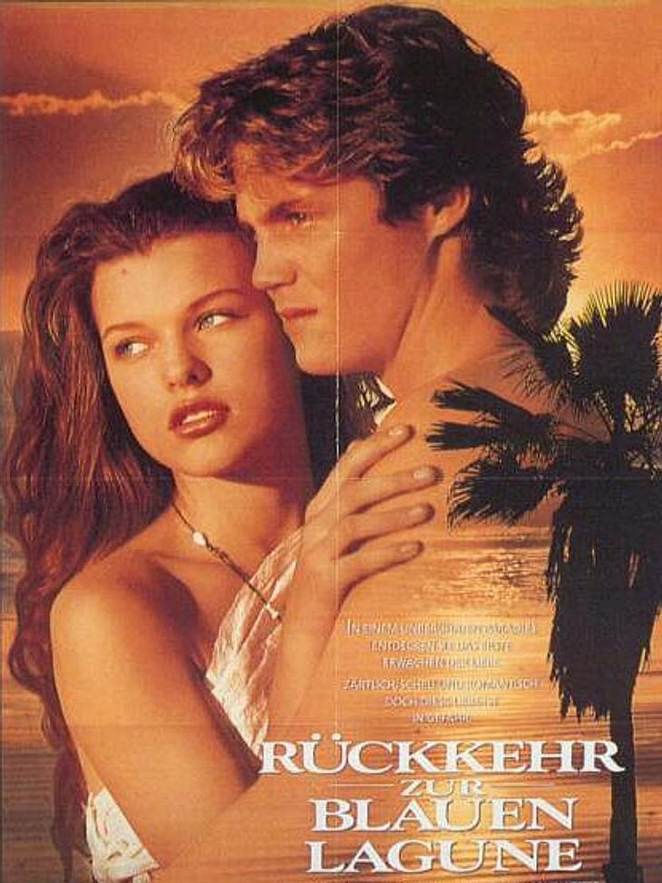 """Achtung, Film-Fortsetzung!""""Die Rückkehr zur blauen Lagune"""" ist mehr eine Neuverfilmung als eine echte Fortsetzung. Milla Jovovich (36) und Brian Krause (43) versuchten das noch einmal, was Brooke und Christopher erfolgreich vorgel"""