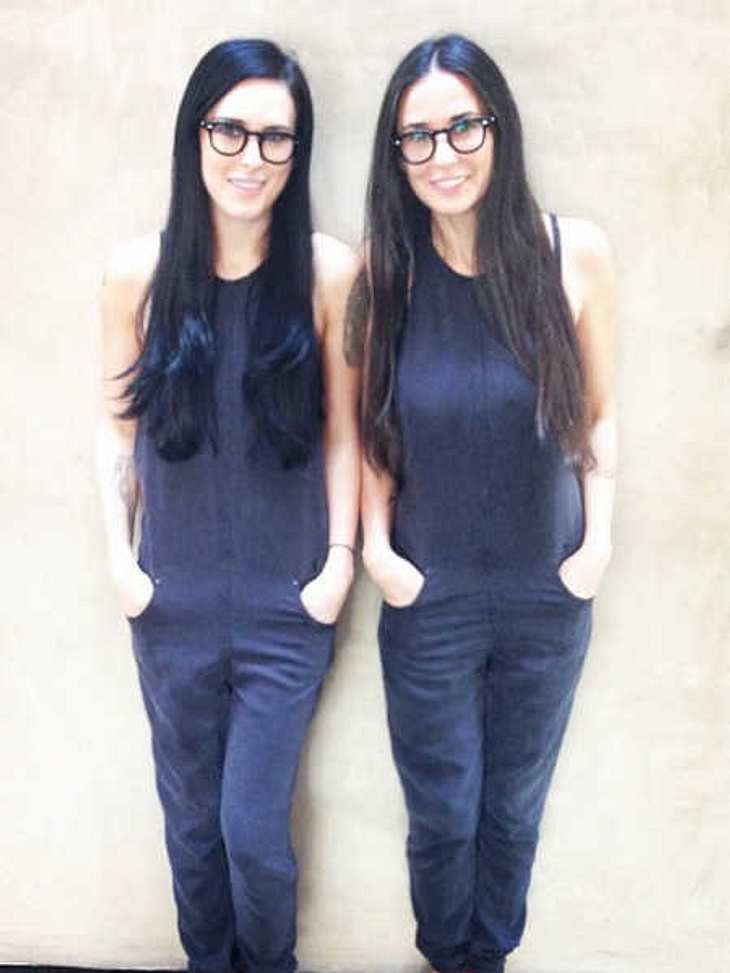 Demi Moore & Rumer Willis: Mutter und Tochter im Partnerlook