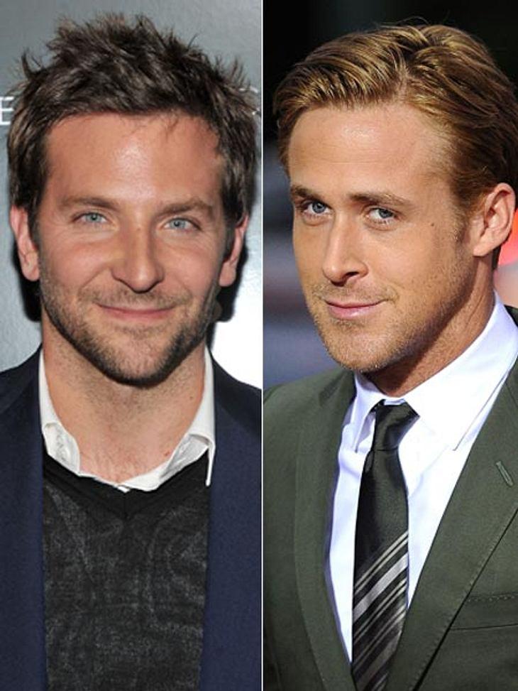 """Bradley Cooper ist der """"Sexiest Man Alive 2011"""". Den Ryan Gosling-Fans gefällt das gar nicht."""