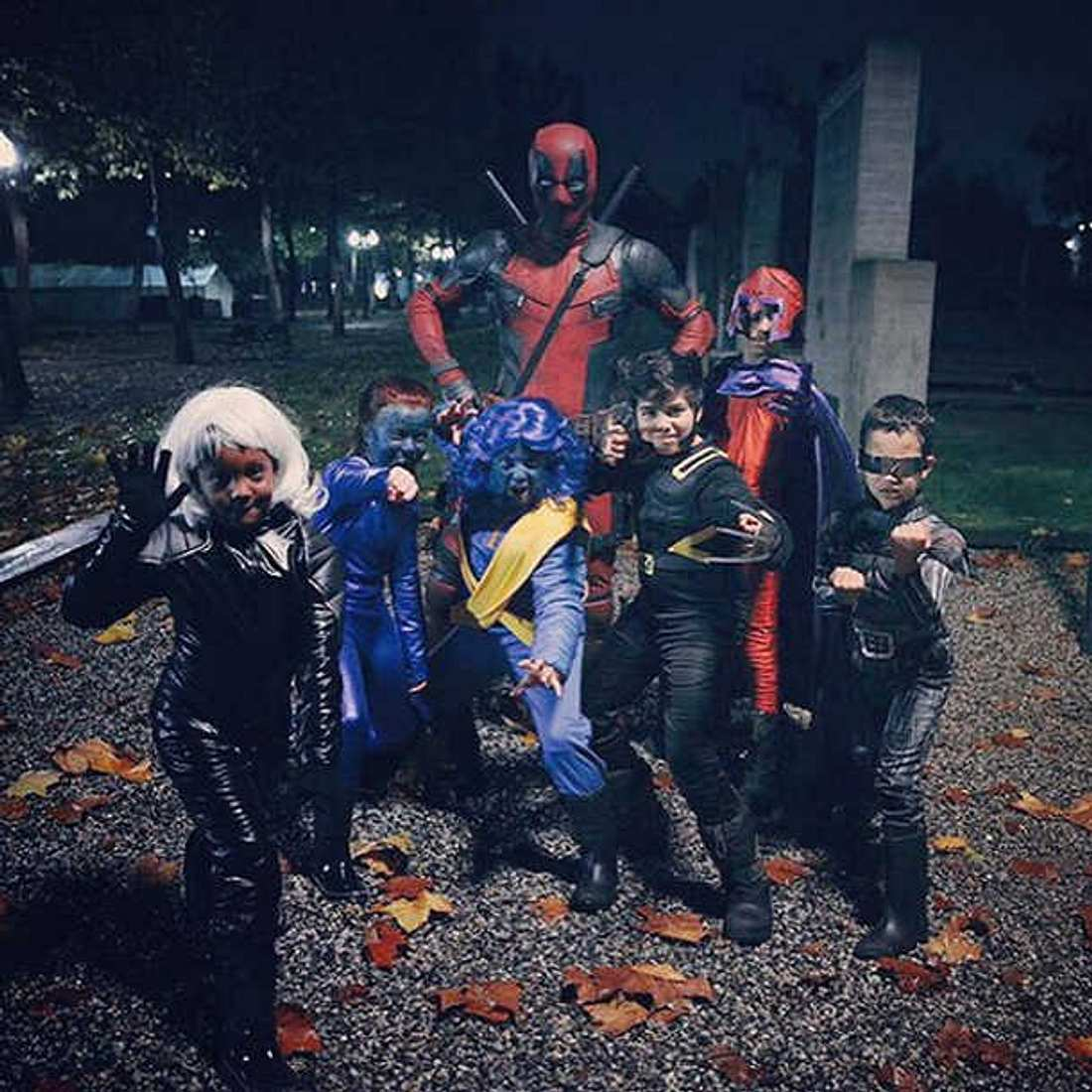 Ryan Reynolds Halloween Deadpool