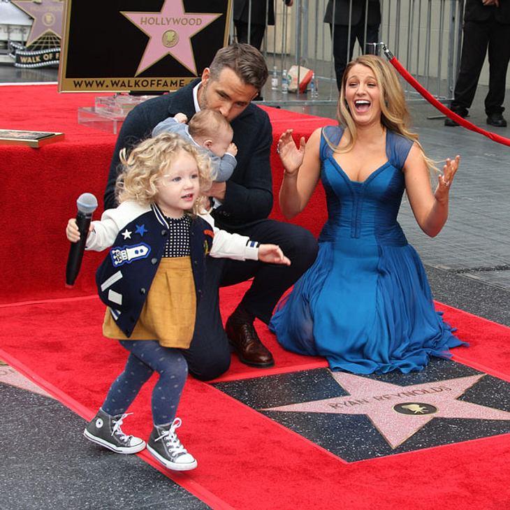 Ryan Reynolds und Blake Lively: Süßer Auftritt mit ihren Kids!