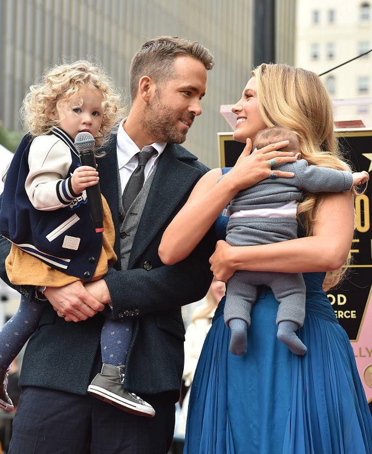 Ryan Reynolds tankt bei seiner Familie Kraft