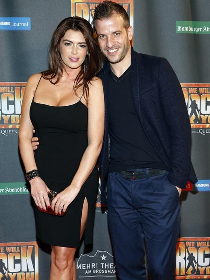 "Sabia Boulahrouz und Rafael van der Vaart bei der ""We Will Rock You""-Musical-Premiere"