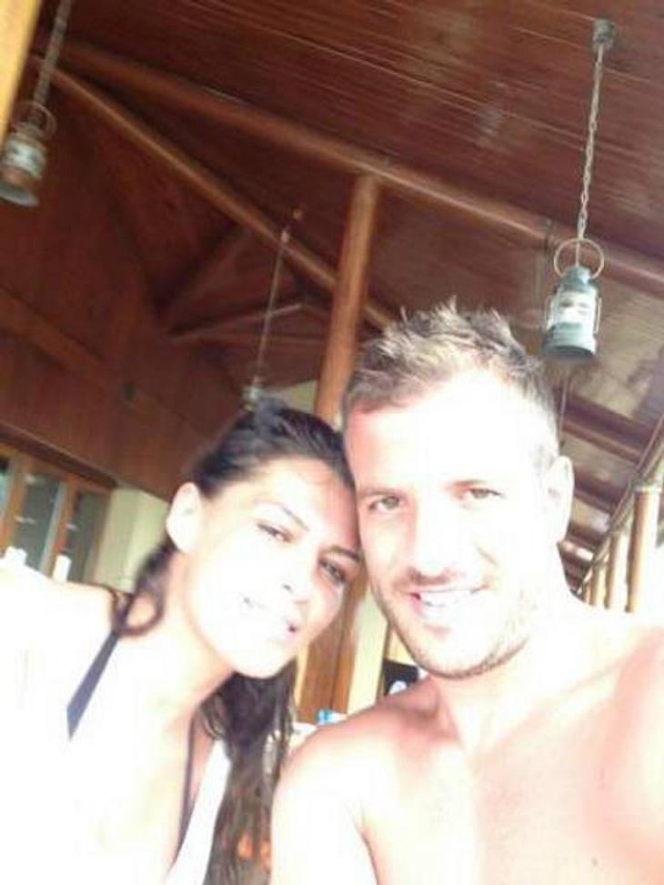 Sabia Boulahrouz und Rafael van der Vaart im Liebes-Urlaub