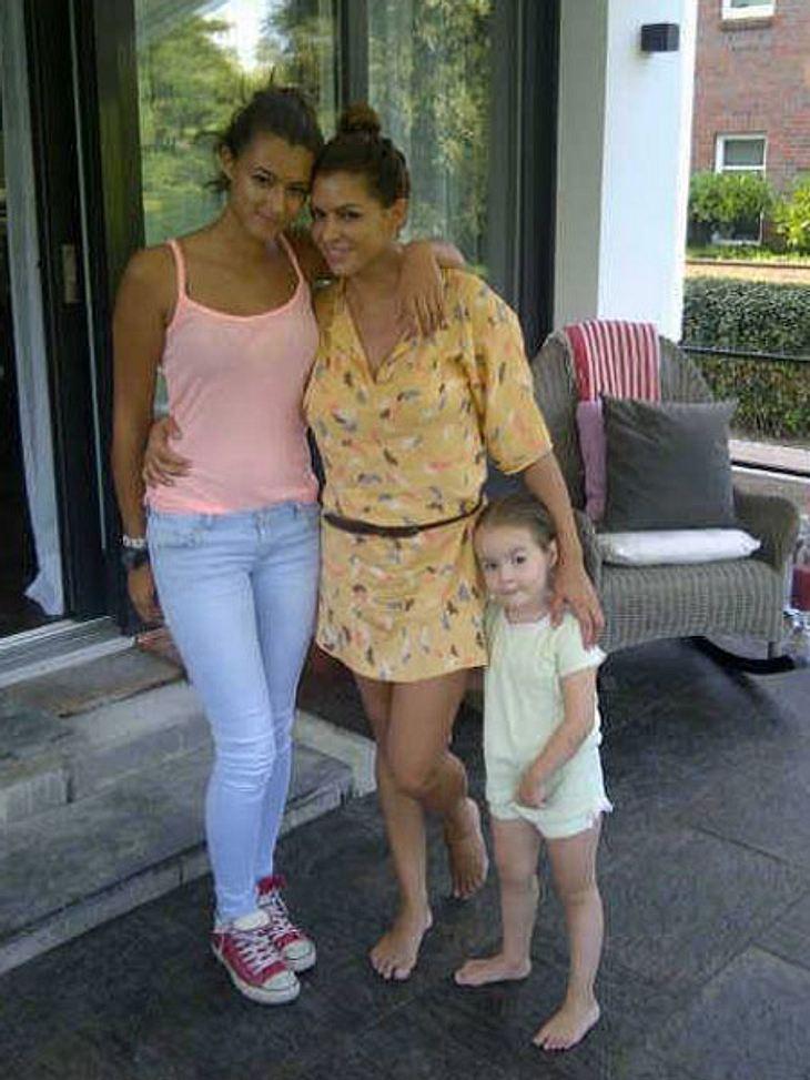 Sabia Boulahrouz und ihre Töchter