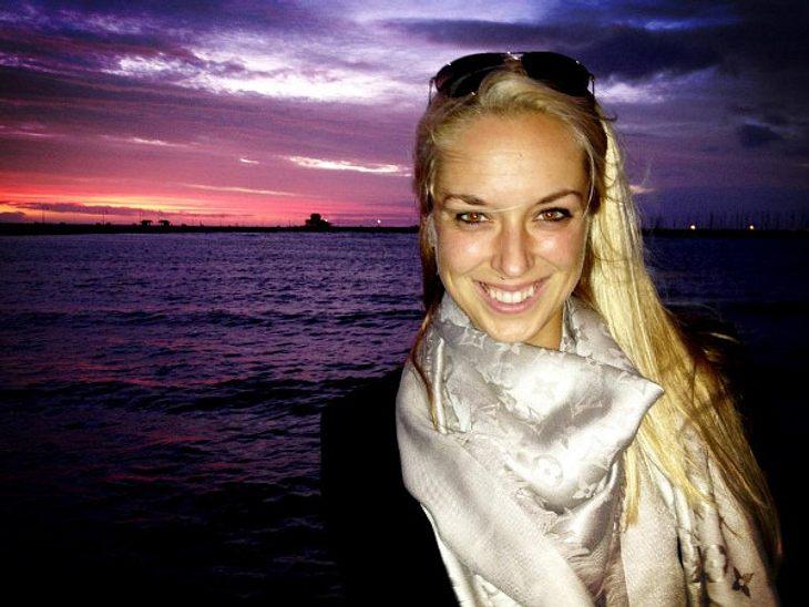 Sabine Lisicki genießt den Sonnenutergang in Australien.