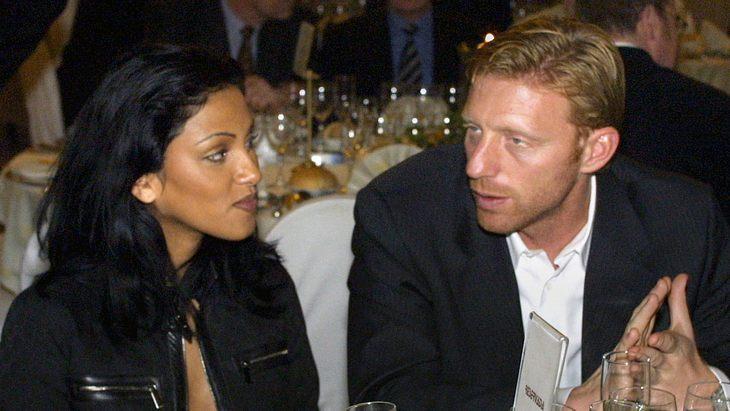Sabrina Setlur und Boris Becker