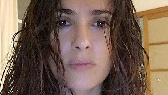 Salma Hayek zeigt sich ohne Make Up - Foto: Instagram/ salmahayek