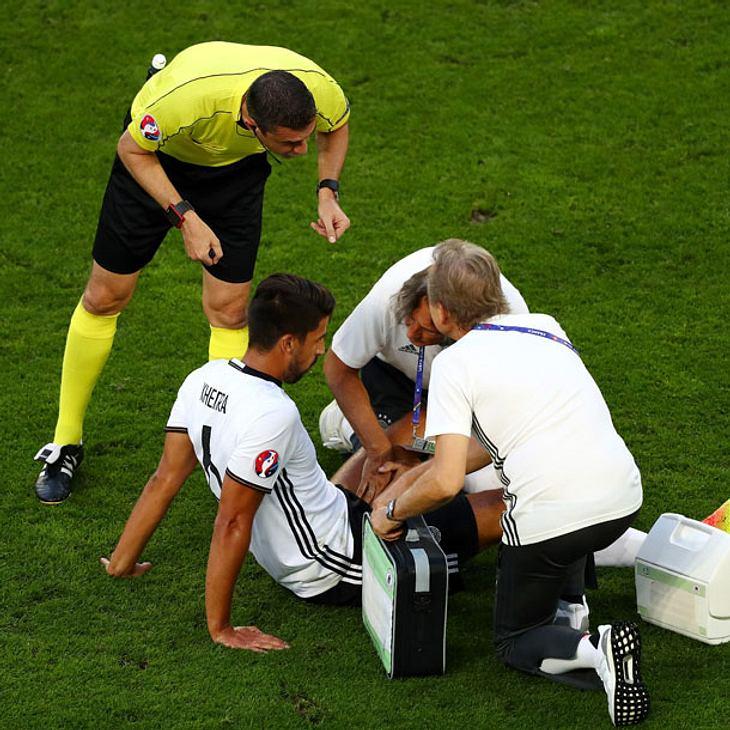 EM-Schock: Sami Khedira im Halbfinale nicht dabei