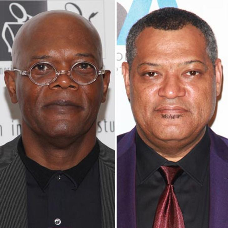 Merke: Samuel L. Jackson (links) ist nicht Laurence Fishburne (rechts).