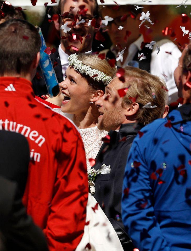 Samuel Koch & Sarah Elena Timpe: Tanz-Überraschung zur Hochzeit