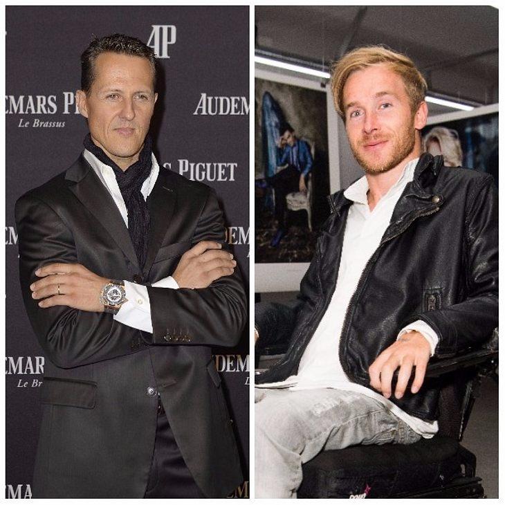 Samuel Koch gibt Michael Schumacher Hoffnung