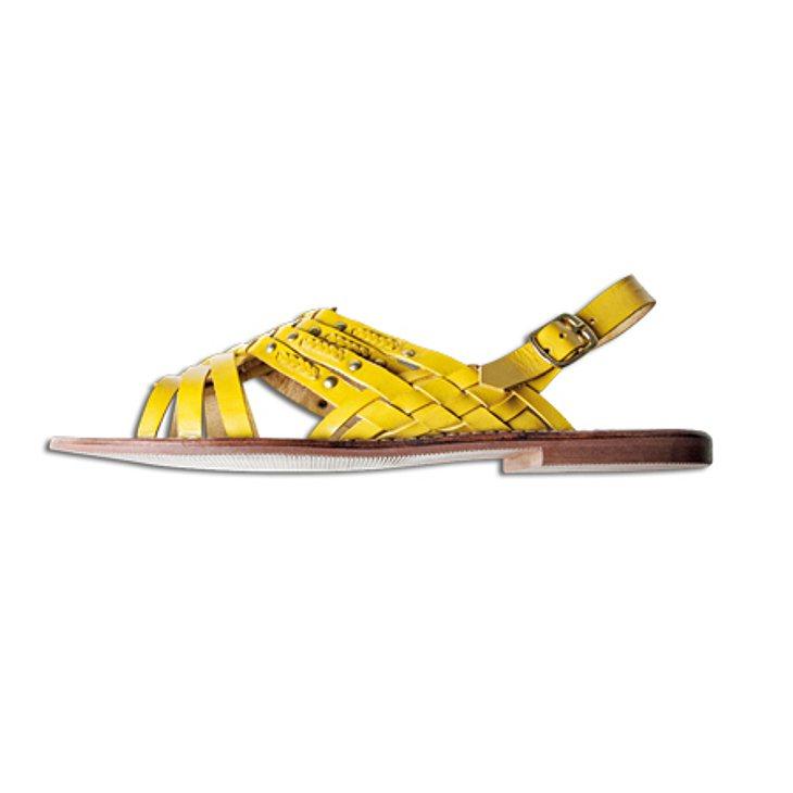 Star-Style: GelbSandale: 13 Euro, Gr. 36-41, PrimarkWelche Sommer-Schuhe passen zu mir?