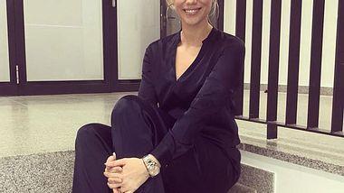 RTL-Moderatorin Sandra Kuhn ist schwanger! - Foto: Facebook/ Sandra Kuhn
