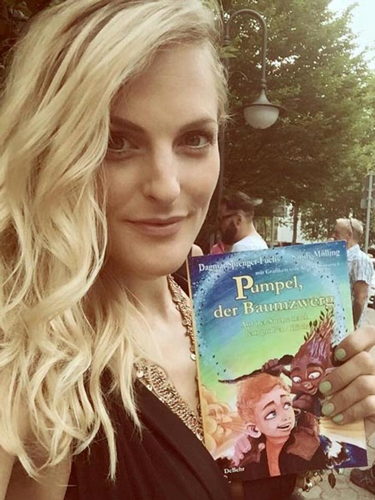 Sandy Mölling stellt ihr Kinderbuch vor