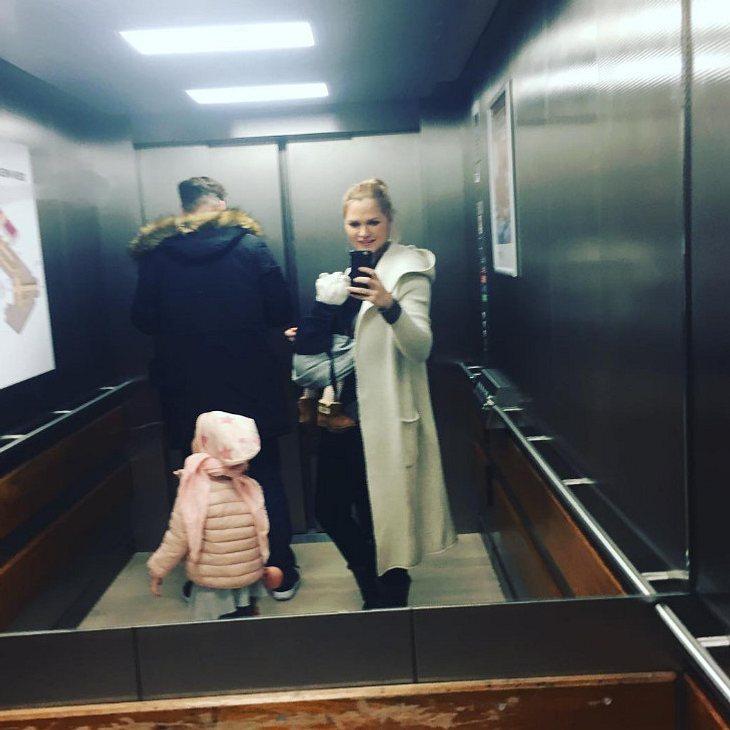 Sara Kulka zeigt ihren Mann