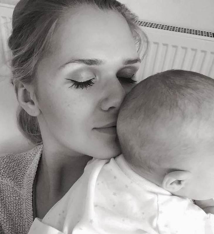 """Sara Kulka ganz offen: """"Ich bin keine perfekte Mama"""""""