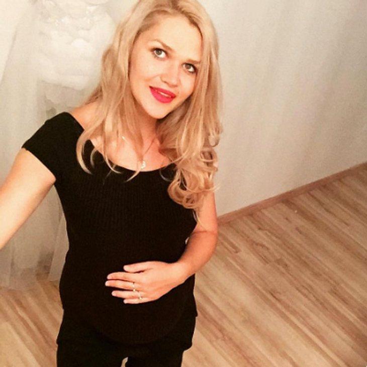 Sara Kulka verrät den Namen ihrer Tochter