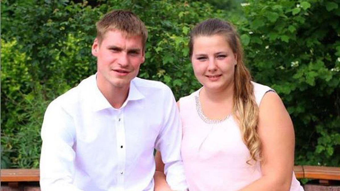 Sarafina Wolly und Peter Heck