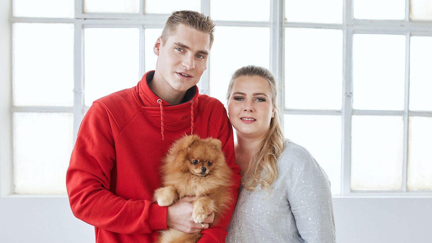 Sarafina Wollny und Peter Heck haben zwei Kinder