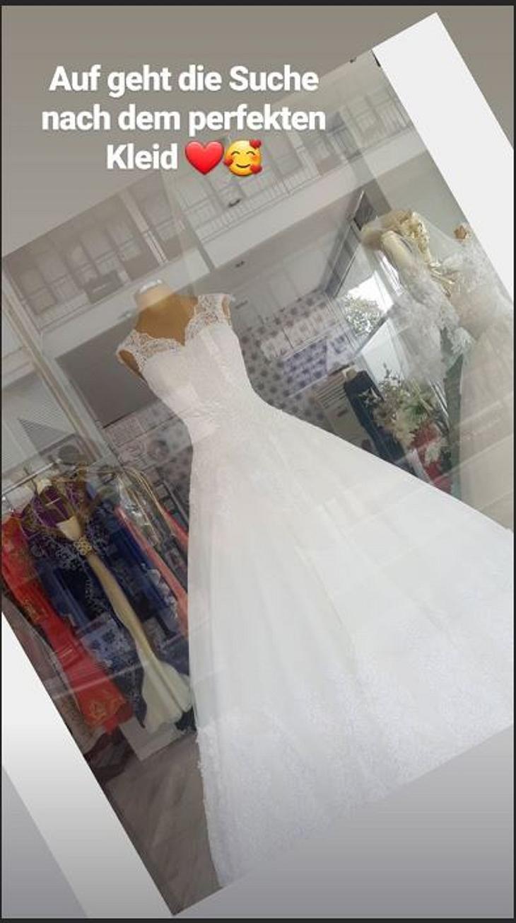 Sarafina Wollny sucht das perfekte Brautkleid