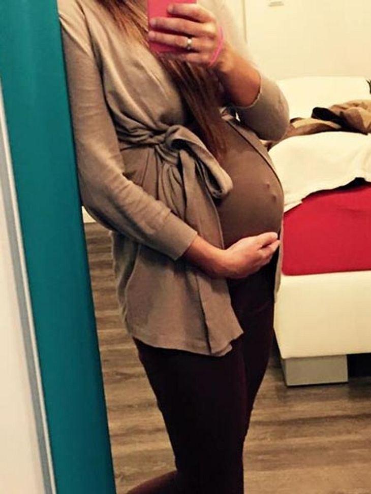 Gefährdet Sarah Engels mit ihrem Piercing das Baby?