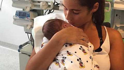 Sarah Lombardi: Zeigt sie hier das allererste Foto von Alessio? - Foto: facebook.com/OffiziellSarahEngels
