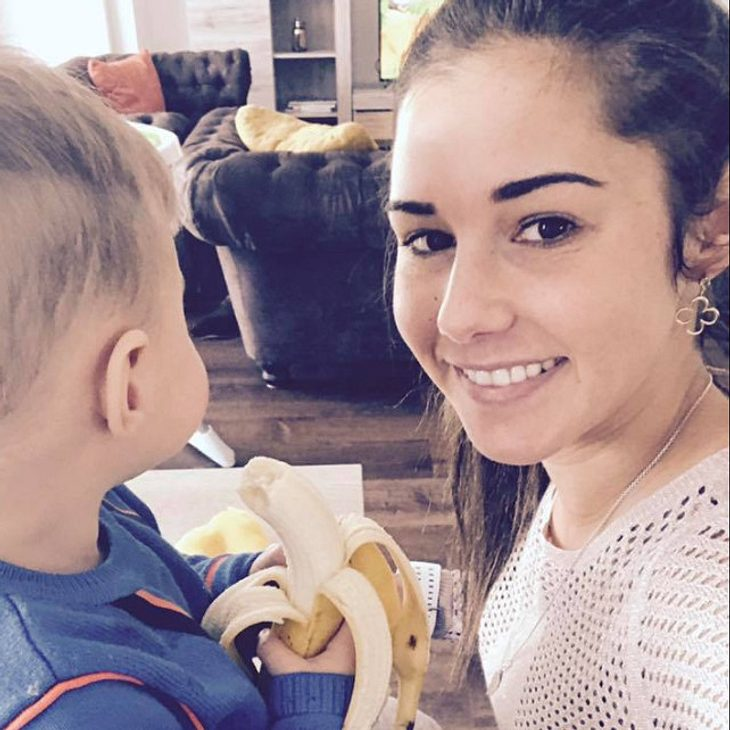 Sarah Lombardi verteidigt den kleinen Alessio