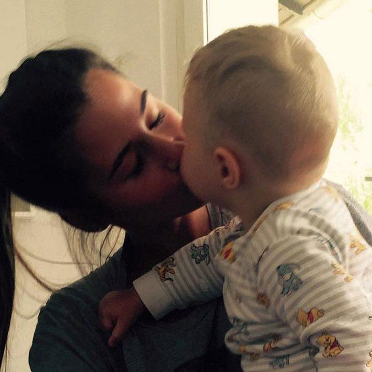Sarah Lombardi Baby Alessio